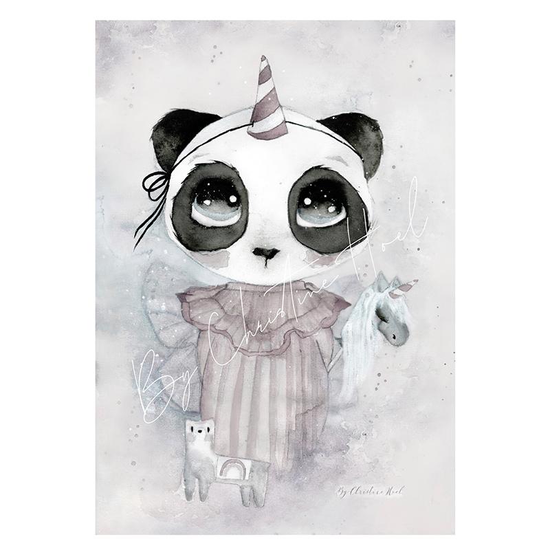 Panda Clara By Christine Hoel