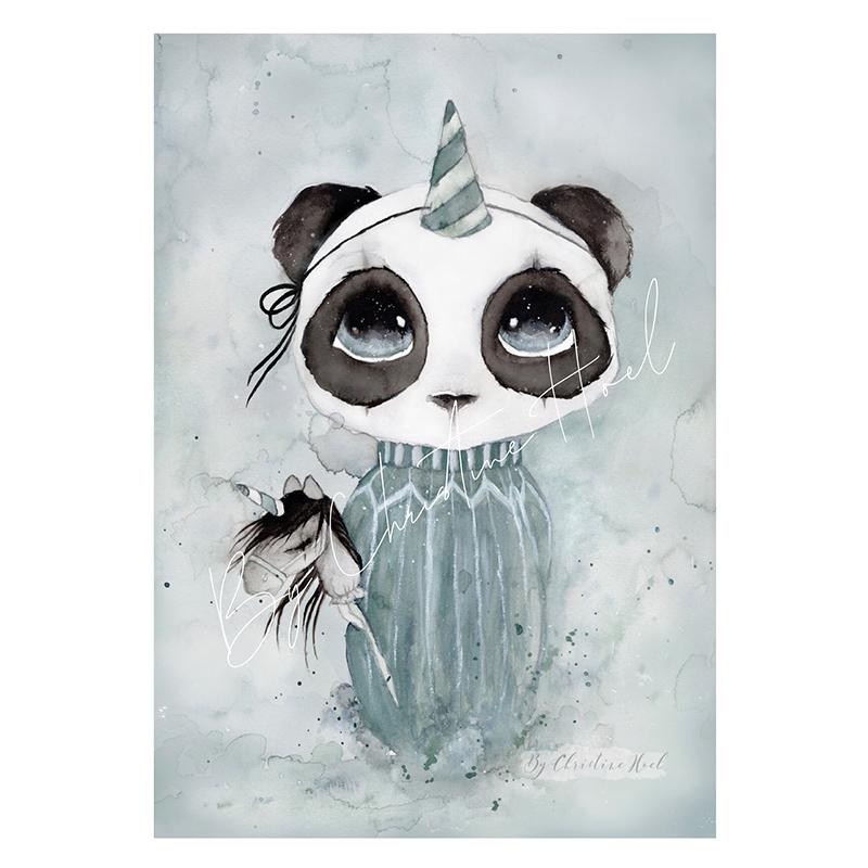 Panda Carlos By Christine Hoel