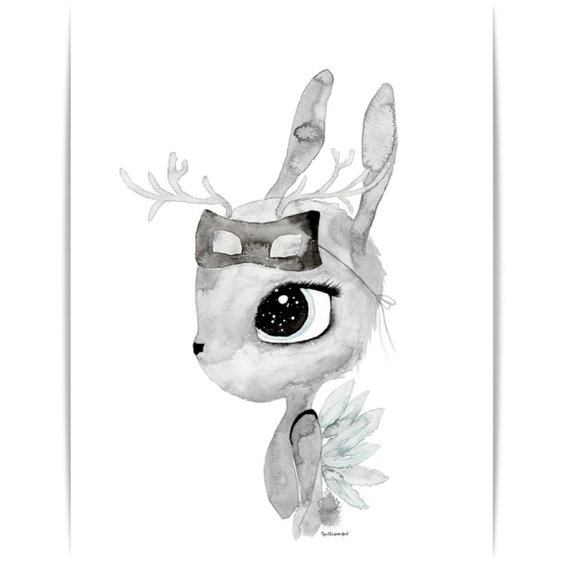 Deer By Christine Hoel